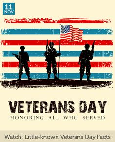 Little Known Veterans Day Facts (video)