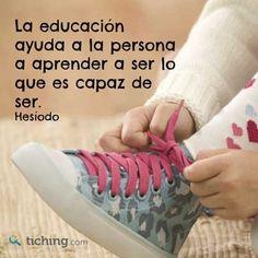 #educacion es asi..y hay que continuar haciendolo por siempre !