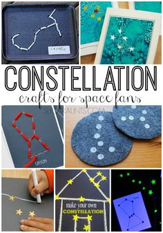 Constellation crafts for kids