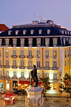 Bairro Alto Hotel - Lisbon, Portugal - The 18th-century mansion-turned-hotel sits on Lisbon's central square.