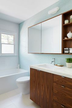 Bathroom small modern bathrooms Design Ideas, Pictures, Remodel and Decor