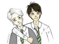 love these two so much Scorpius × Albus