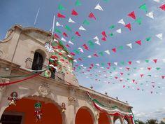 Fiestas patrias en Santigo Suchilquitongo Etla