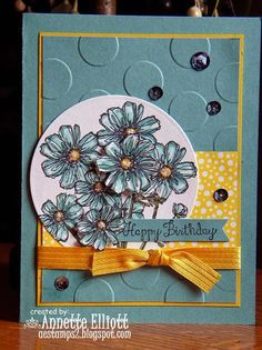Lost Lagoon Birthday card by AEstamps2 - Cards and Paper Crafts at Splitcoaststampers