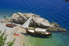 beach Jakirusa, Brela, Croatia