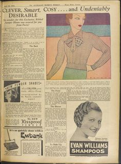 Issue: 20 Apr 1935 - The Australian Women's Wee...