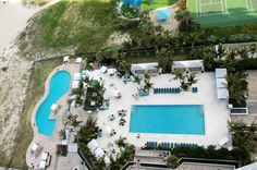 The Ritz Carlton Residences Offers 2 Pools At Their Prime Singer Island Oceanfront Location