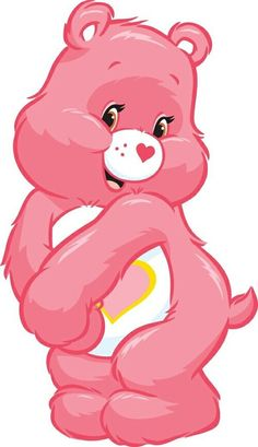 Image via We Heart It https://weheartit.com/entry/131495361/via/26430119 #carebears #cute #kawaii #pink #wallpaper