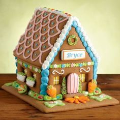 Buy our Personalized Cookie House and many other Easter cookie gifts from Harry & David.