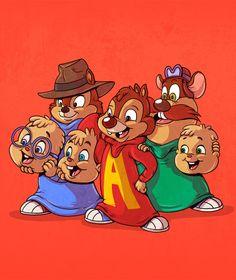 Alvin & The Chipmunks / Rescue Rangers