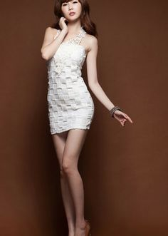 Korean Dress White Korean Fashion Dress, Korean Dress, Fashion Dresses, White Dress, Bodycon Dress, Asian, Culture, Traditional, Formal Dresses
