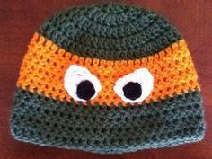 Free Crochet Ninja Beanie Pattern.