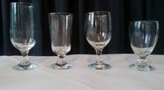Beer With Stem, High-Ball, Bistro Glass, and Water Glass Water Glass, Flute, Beer, Tableware, Root Beer, Ale, Dinnerware, Flutes, Dishes