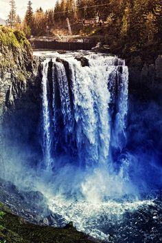 Snoqualmie Falls, Snoqualmie, WA.
