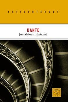 Title: Jumalainen näytelmä   Author: Dante   Designer: Maija Vallinoja Author, Orange, Design, Home Decor, Decoration Home, Room Decor, Writers, Home Interior Design