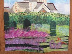 Afgaanse lavendel kasteel Villandry Frankrijk
