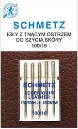 Igły Schmetz do skóry (5x100)