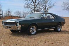 1968 AMERICAN MOTORS AMX - Barrett-Jackson Auction Company - World's Greatest Collector Car Auctions