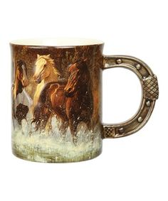 This Horse Mug Is Perfect Zulilyfinds Pictures Mother Day Gifts