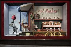 NK Christmas Windows 2013 - Santa's little helpers.