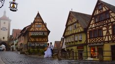 Rothenburg, Germany- where the inspiration for Pinocchio came from - - See more of our wanderlust wedding photos on our blog www.travelwheretonext.com
