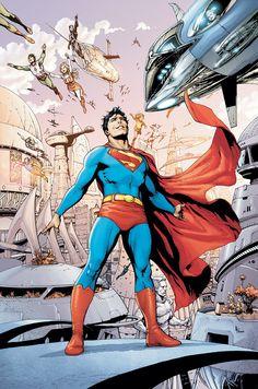 Comic Book Arts - Superman ..