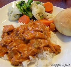 German Chicken Paprikash