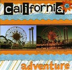 California Adventure - Scrapjazz.com