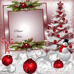 My Family xmas christmas Christmas Frame Clipart, Christmas Frames, Red Christmas, Christmas Tree Ornaments, Christmas Time, Christmas Wreaths, Christmas Cards, Christmas Decorations, Holiday Decor