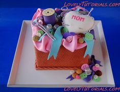 Sewing Cake Decorating Tutorials