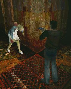 By i.aimee: Favourite videogames 1/ Silent Hill 1999     because Idk what to do in this account so I'll add some of videogame pics  #SilentHill #konami #ps1 #horror #horrorgame #videogames #gaming #gamer #gamers #game #games #gamergirl #tagsforlikes #instagaming #instagamer #instapic #instagood #instasize #instadaily #instalike #like4like #likeforlike #l4l #follow #followme #retrogaming #retrogaming #microhobbit