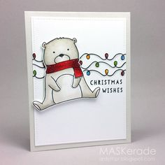Card by Ardyth Percy-Robb  (030617)  [Neat & Tangled (dies) Beary Merry; (stamps) Beary Merry, Little Tangles, Winter Wishes]