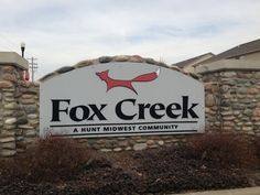 Fox Creek is located in Platte City, and is a Town House Community. - Fox Creek Townhomes Subdivision