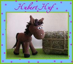 Häkelanleitung Pferd Hubert Huf