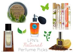 the 5 best natural perfumes via Living Pretty Naturally