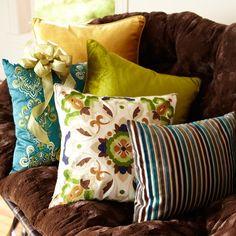 Pillows!!!!! Pillows!!!!!! Pillows!!! I love pillows from Pier 1