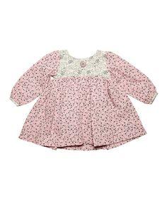 Lilas Rose Dress - Infant & Toddler