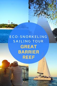 The best Eco-Snorkeling and Sailing Tour on The Great Barrier Reef, Queensland.
