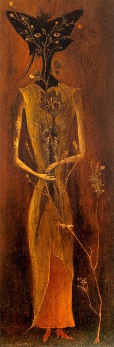 Leonora Carrington 'PORTRAIT OF MADAME DUPIN.' 1947.