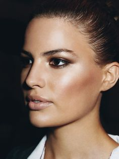 11 meltproof makeup ideas for summer: Rub a bright pink or coral cream or gel blush on the apples of your cheeks, and blend