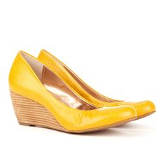 everyone needs some yellow wedges!  Sole Society