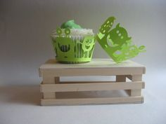 Super Cute Monster Cupcake Wrappers by artnheartinspiration, $6.50