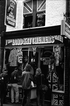 I Was Lord Kitchener's Valet, Carnaby Street, late 1960s
