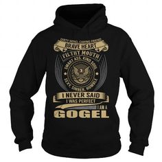 Awesome Tee GOGEL Last Name, Surname T-Shirt Shirts & Tees