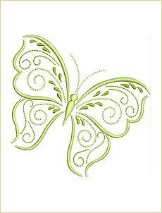 10 Springtime Butterflies for the inch hoops Free Machine Embroidery Designs, Hand Embroidery Patterns, Custom Embroidery, Embroidery Applique, Butterfly Embroidery, Butterfly Crafts, Butterfly Pattern, Brazilian Embroidery, Embroidery Needles
