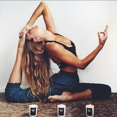 Inspiring image fitness, healthy, poses, yoga by Sharleen - Resolution - Find the image to your taste Yoga Nidra, Yoga Vinyasa, Yoga Inspiration, Fitness Inspiration, Motivation Inspiration, Photo Yoga, Fitness Del Yoga, Cuerpo Sexy, Look Body