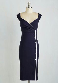 ModCloth Navy Dress