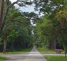 Walkway at Atalaya Castle (Huntington Beach State Park, Murrell's Inlet, SC)