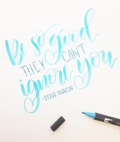 Creative Lettering with Brittany Luiz- an interview for #SimpleAlphabets via surelysimple.com