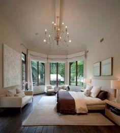 Que hermosa habitación y la vista es bella.